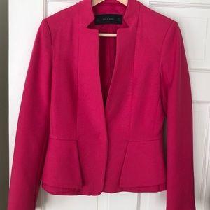 Zara Jackets & Coats - Fuschia blazer
